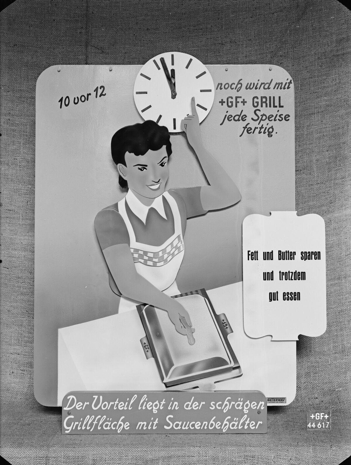 GFA 16/44617: Showcase machine for barbeque propaganda