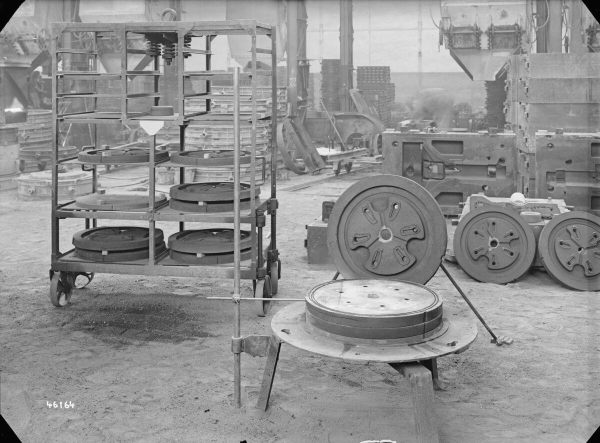 GFA 16/46164: Clamp rings for turbine BBC