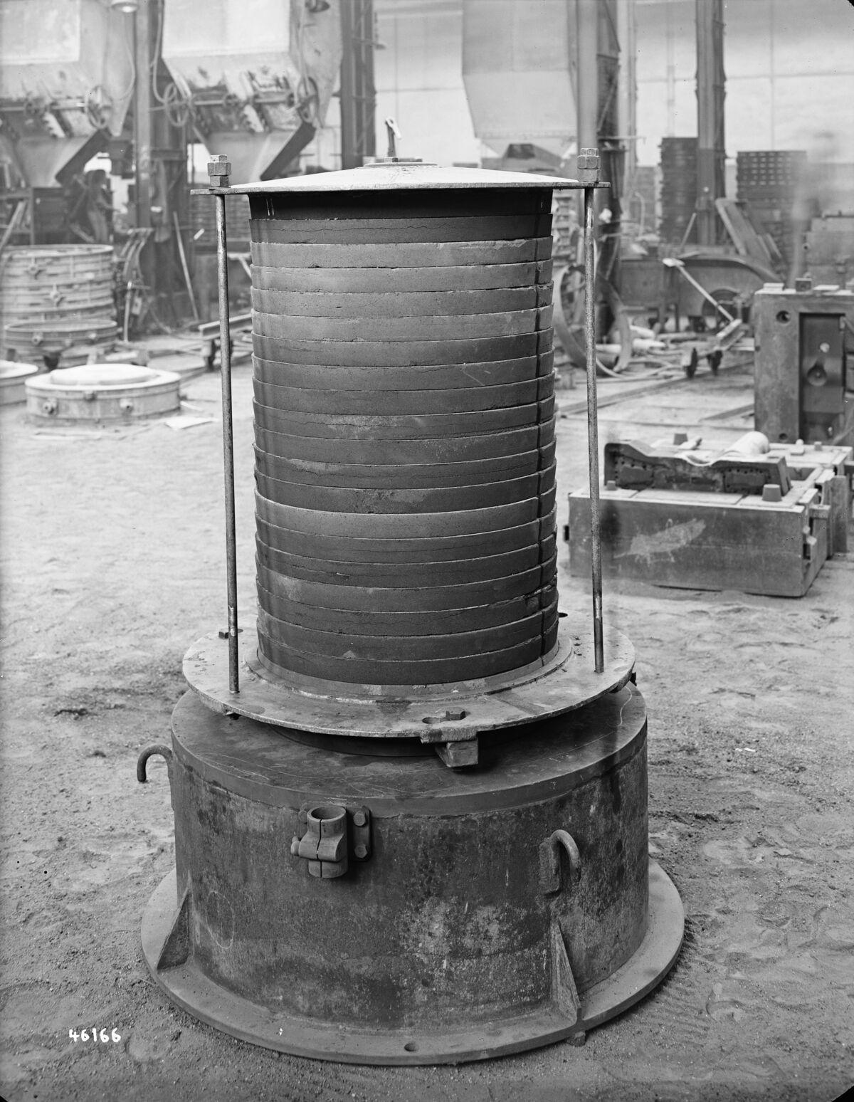 GFA 16/46166: Clamp rings for turbine BBC