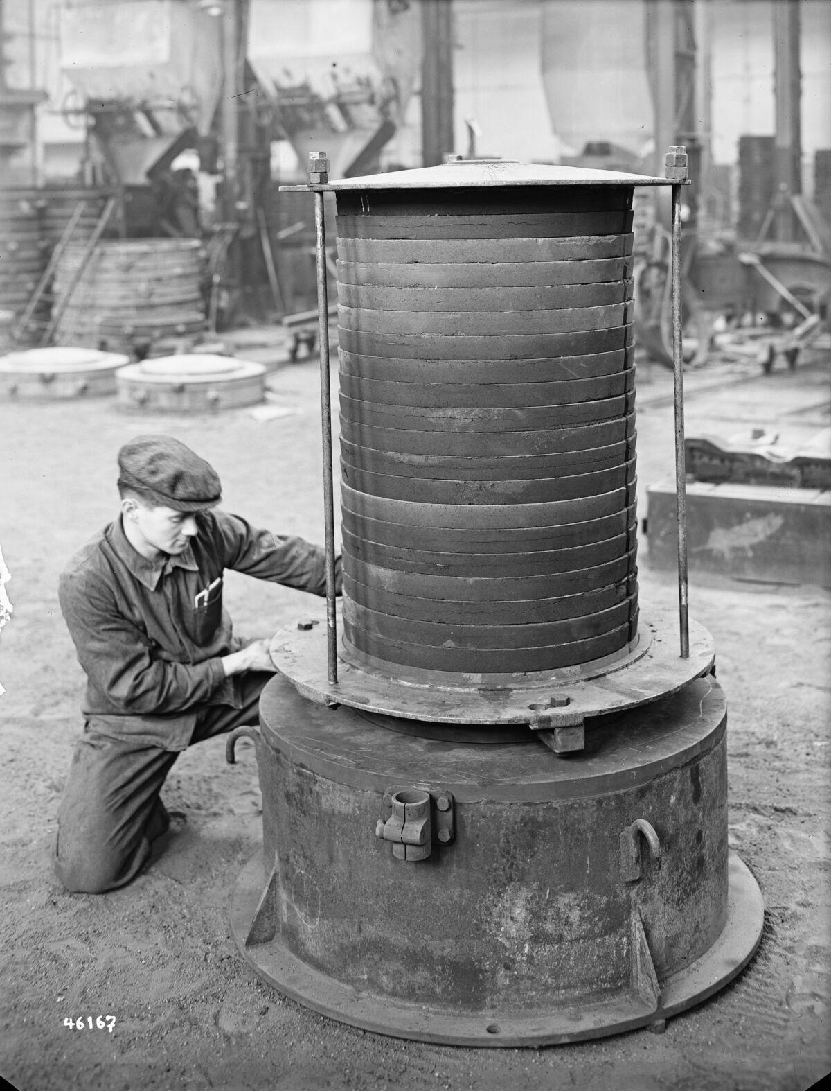 GFA 16/46167: Clamp rings for turbine BBC