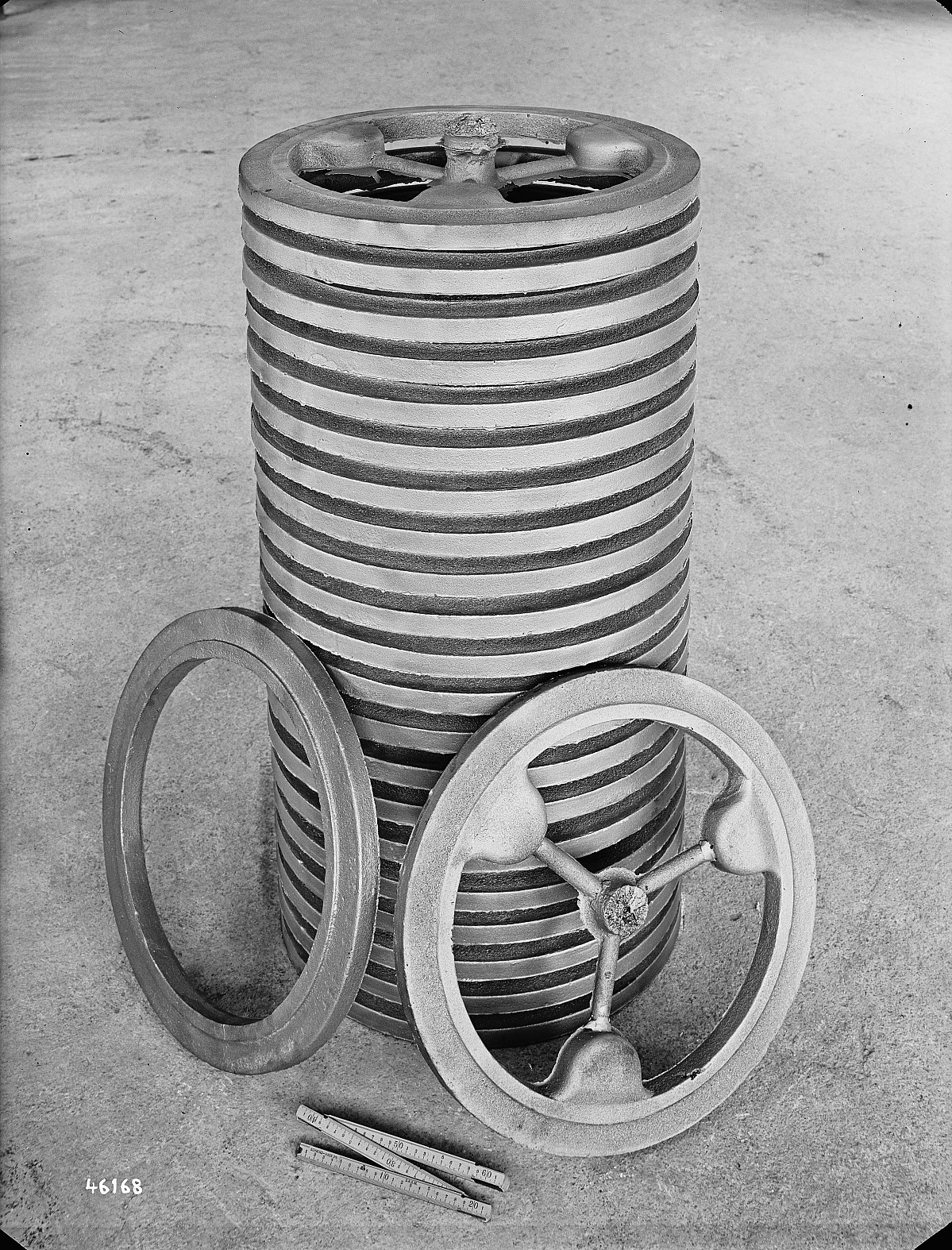 GFA 16/46168: Clamp rings for turbines BBC