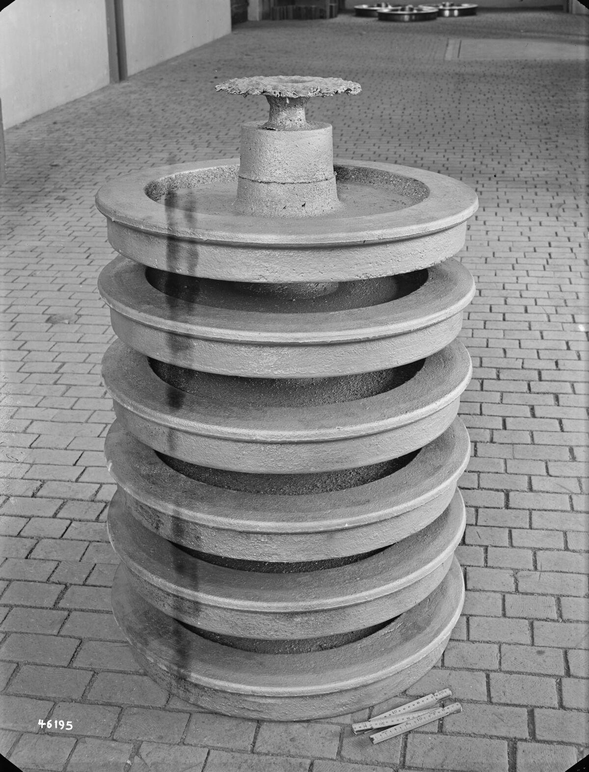 GFA 16/46195: Wheel disc monobloc, municipal tram, Zurich