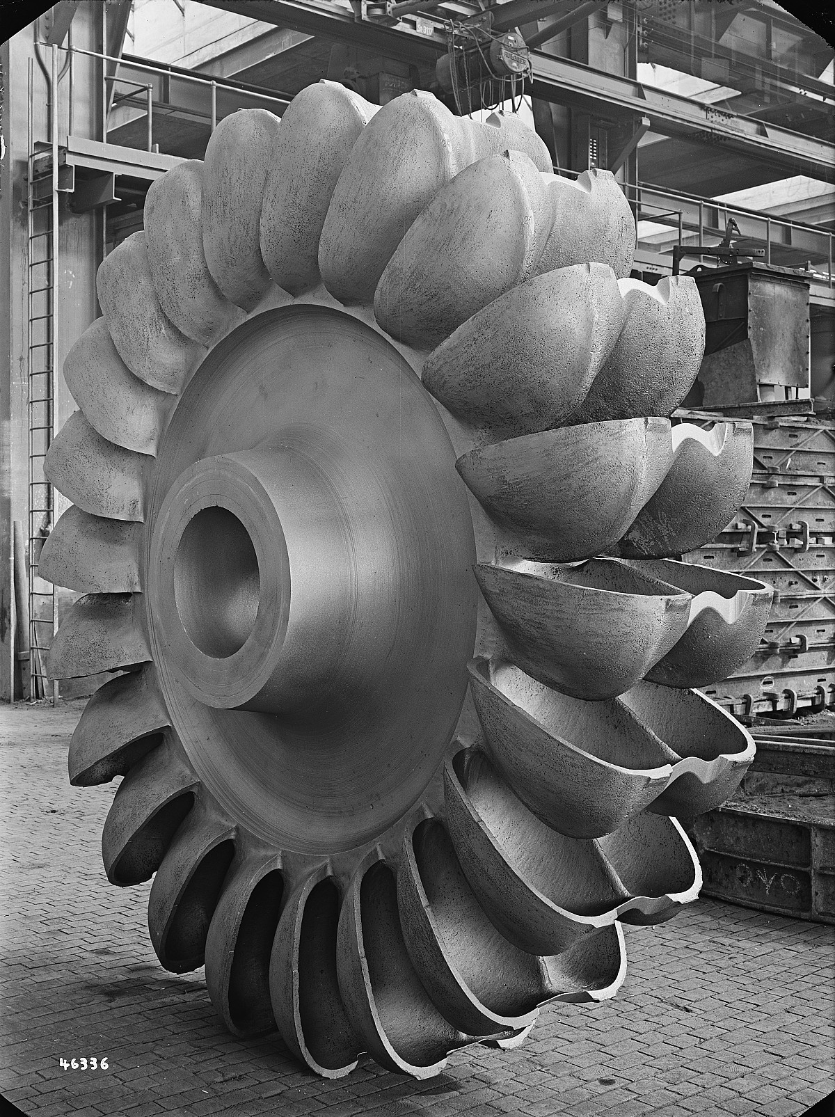 GFA 16/46336: Pelton wheel for Innertkirchen, Escher Wyss