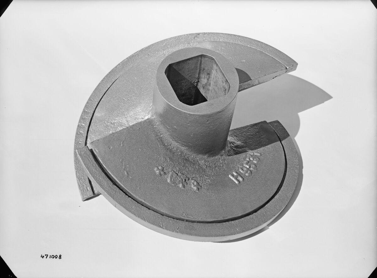 GFA 16/471008: Screw body with cone segments for Rieter extruder