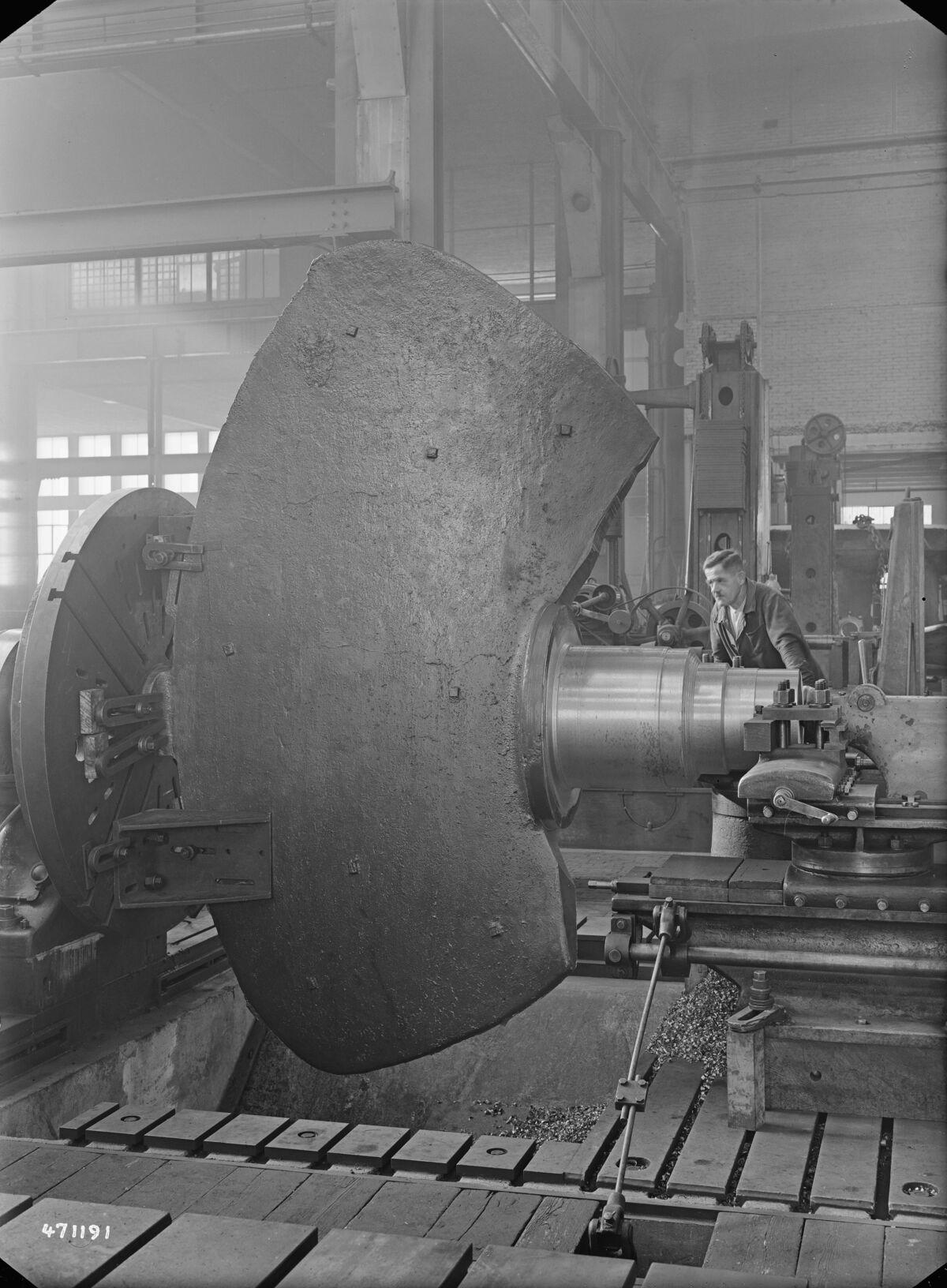GFA 16/471191: Kaplan blade for Finland, Escher Wyss