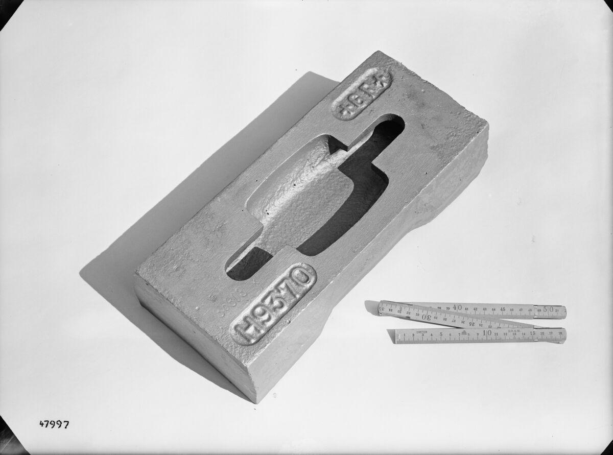 GFA 16/47997: Hammer for Amaro-crasher, for brickworks Hardwald, Zurich