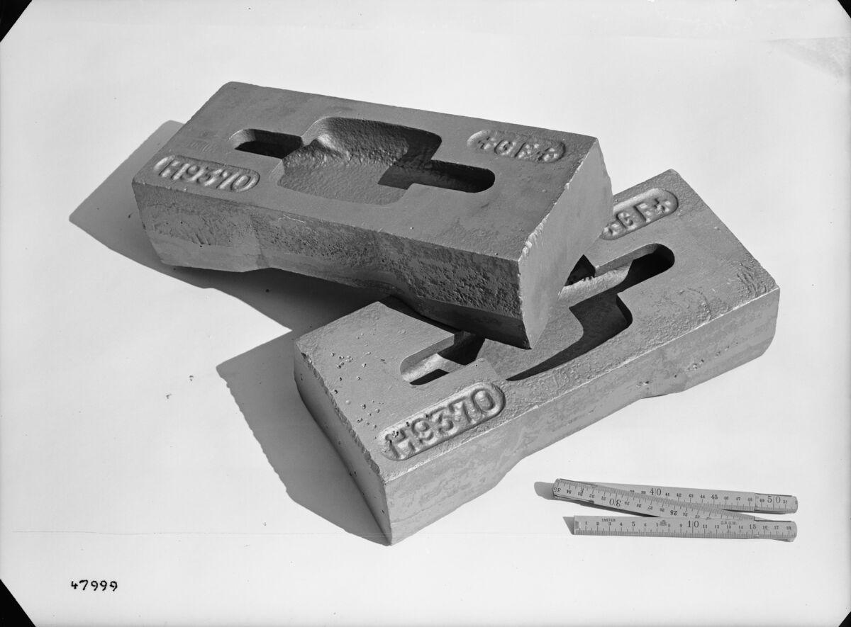 GFA 16/47999: Hammer for Amaro-crasher, for brickworks Hardwald, Zurich