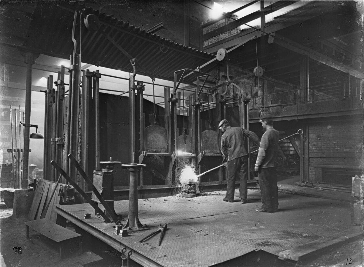 GFA 16/530081: Siemens-Martin furnace