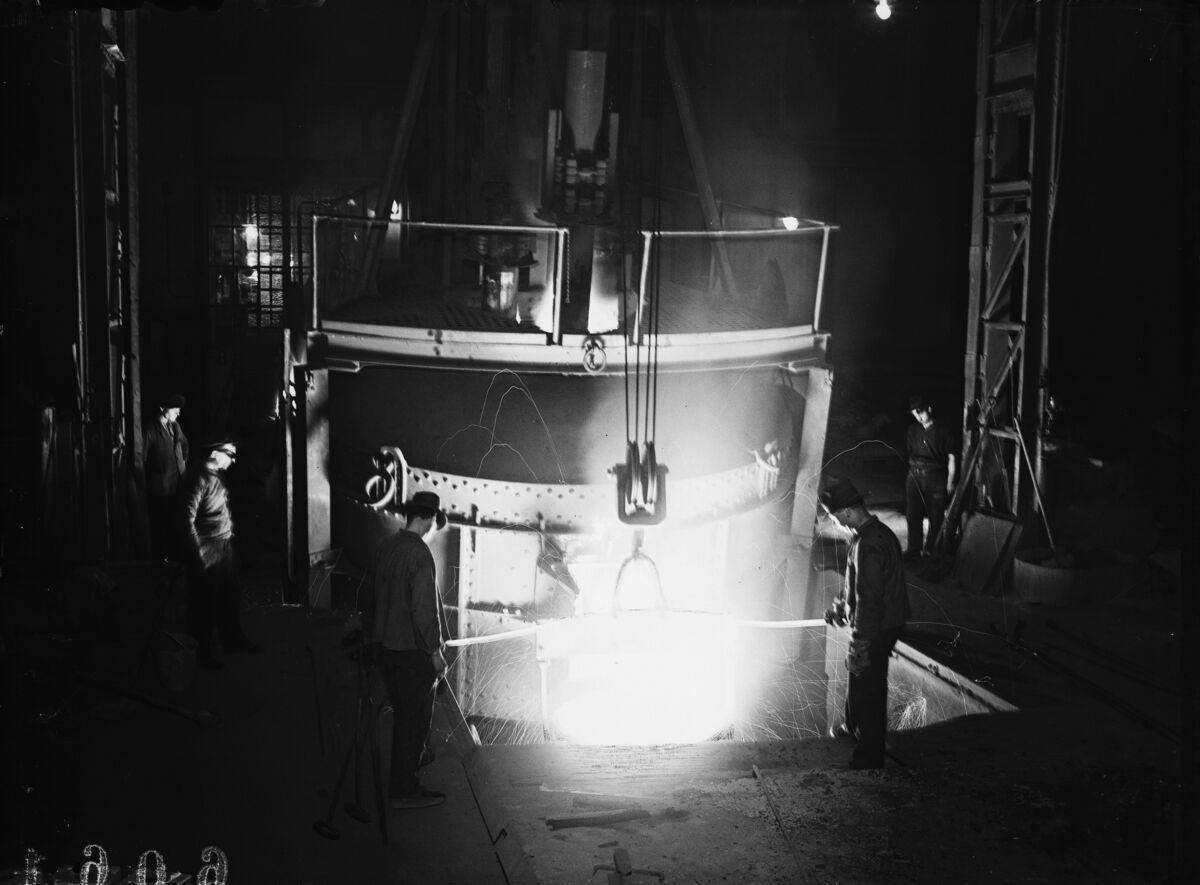 GFA 16/6061: 20 tons electric furnace, plant I