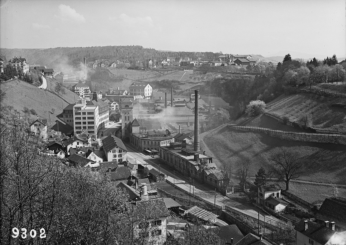 GFA 16/9302: Conversion plant I 1929, before the retaining wall