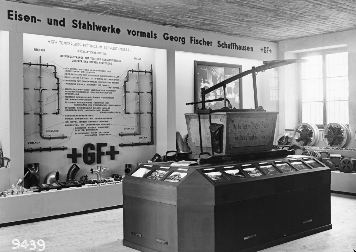 GFA 16/9439: Cantonal industrial exhibition in Schaffhausen