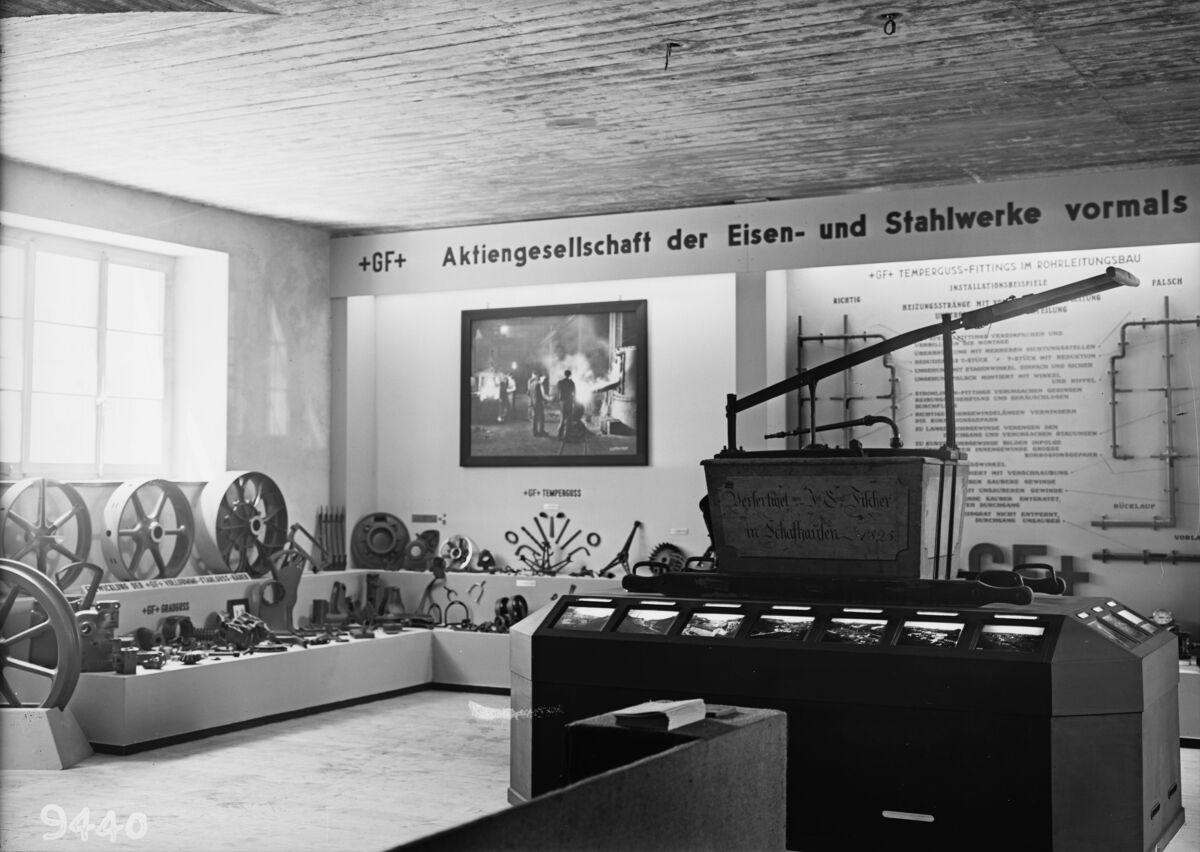 GFA 16/9440: Cantonal industrial exhibition in Schaffhausen