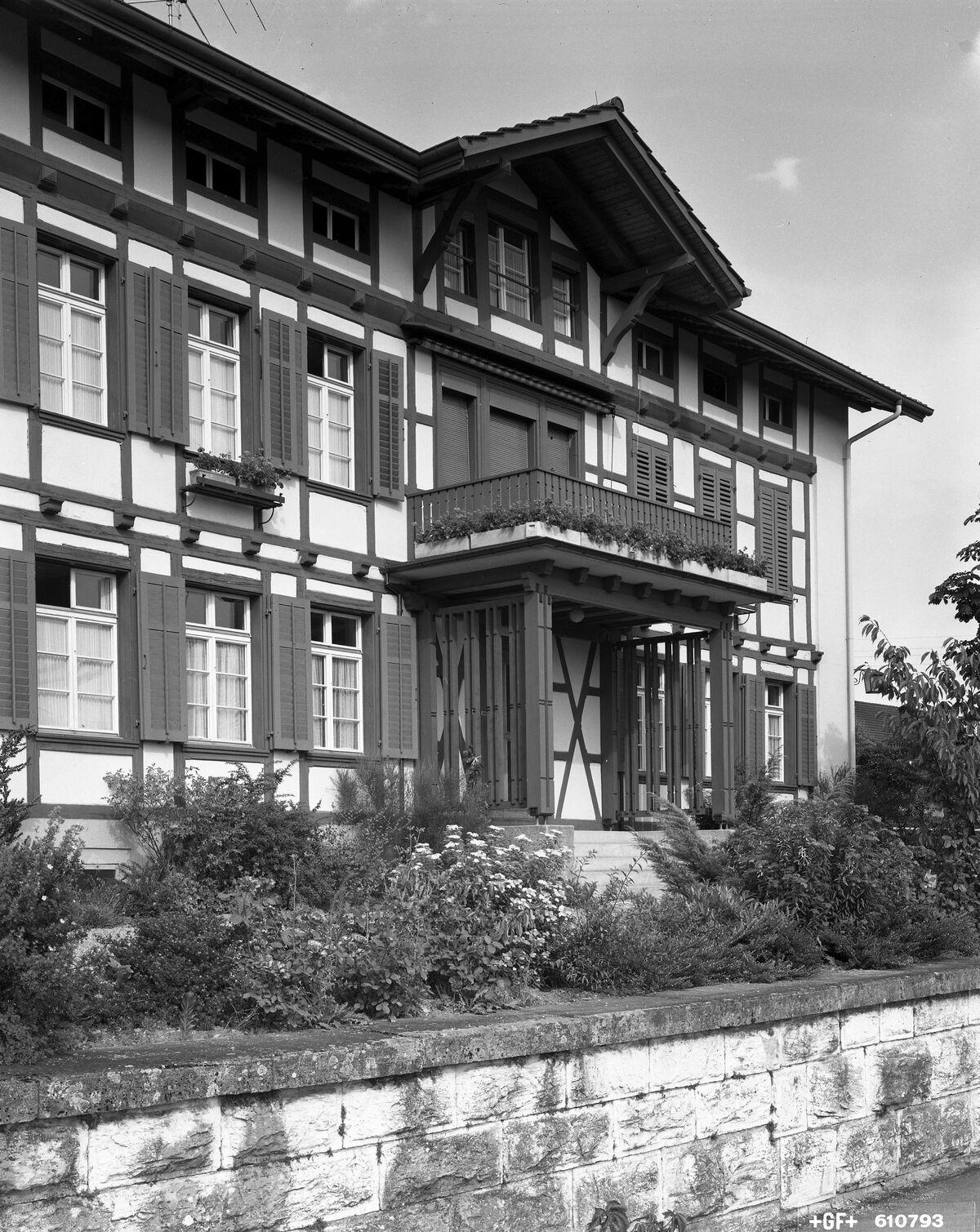 GFA 17/610793.2: Apprentices' home Dachsen