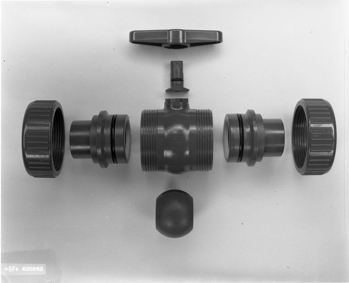GFA 17/620262: GF Kugelhahn aus PVC
