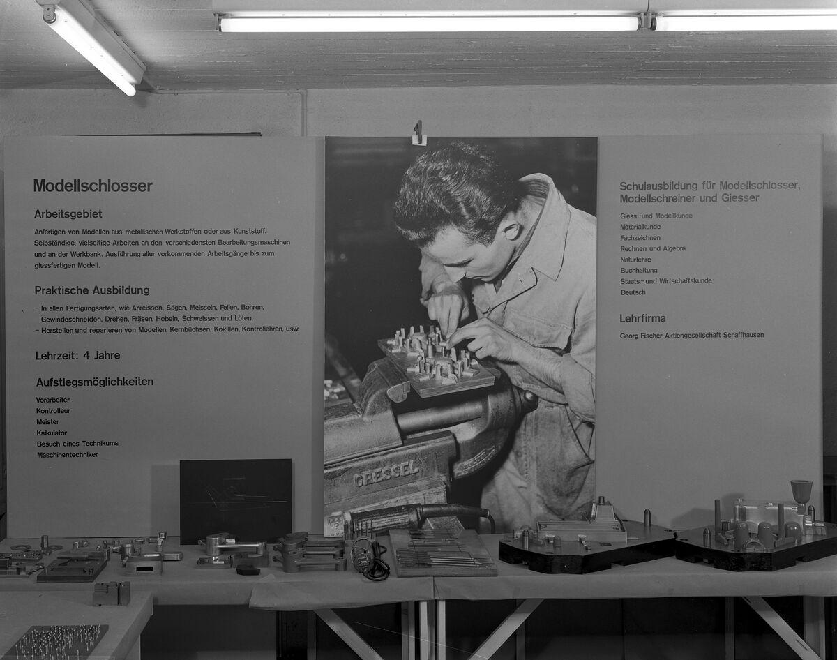 GFA 17/650301: Exhibition on vocational training at GF