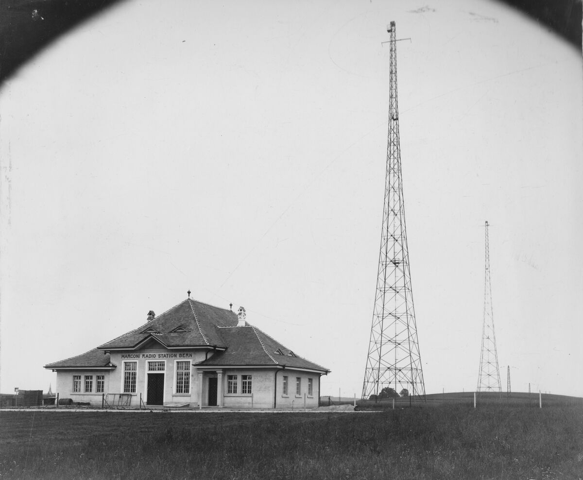 GFA 20/135.133: Stahl- und Brückenbau: Antennentürme Sendestation