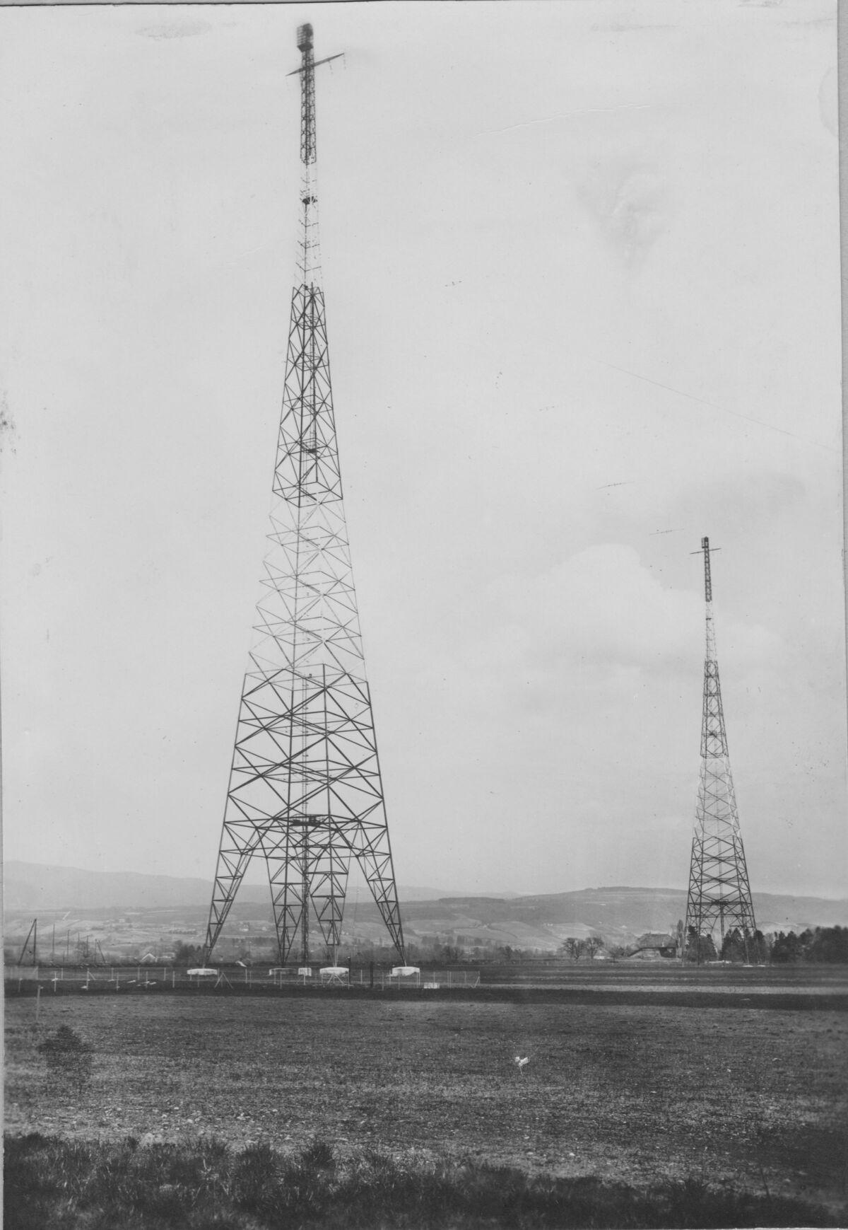 GFA 20/135.165: Stahl- und Brückenbau: Antennentürme