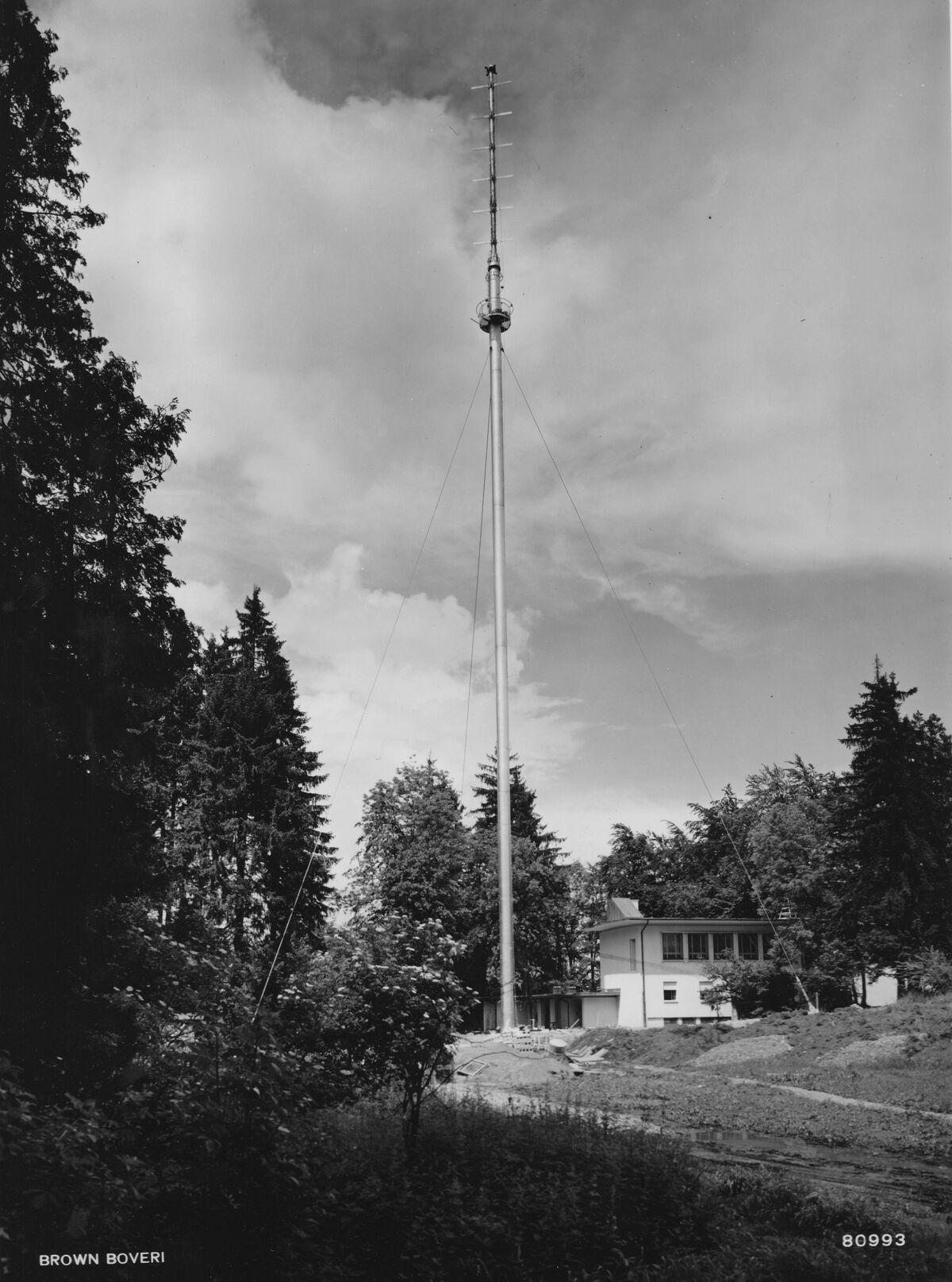 GFA 20/135.182: Stahl- und Brückenbau: Fernseh-Antennenturm