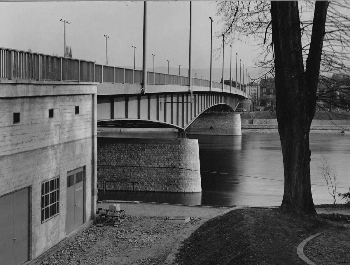 GFA 20/135.186: Stahl- und Brückenbau: St.Albanbrücke