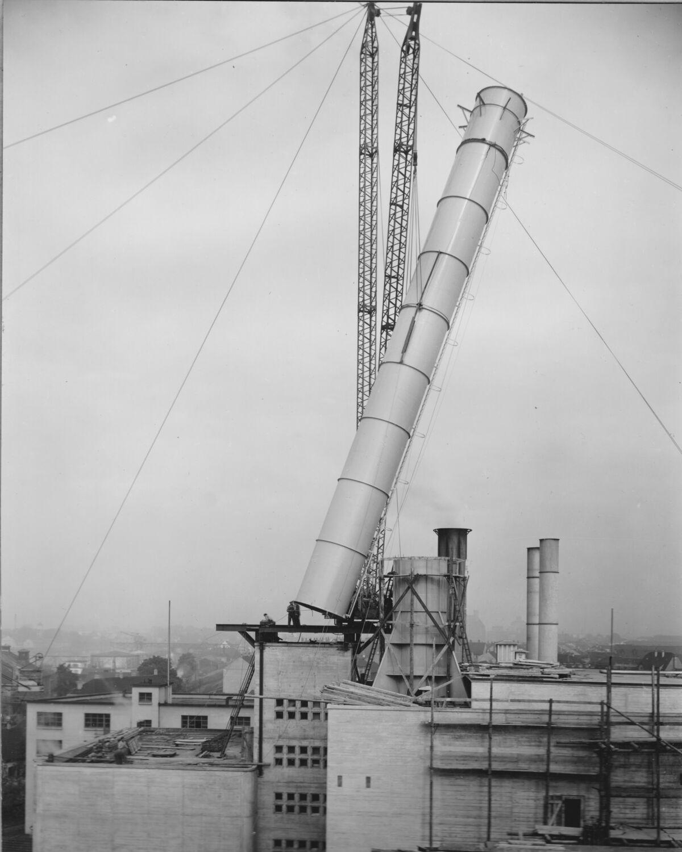 GFA 20/135.192: Stahl- und Brückenbau: Stahlbau Derrik Neubau 20 Kesselhaus