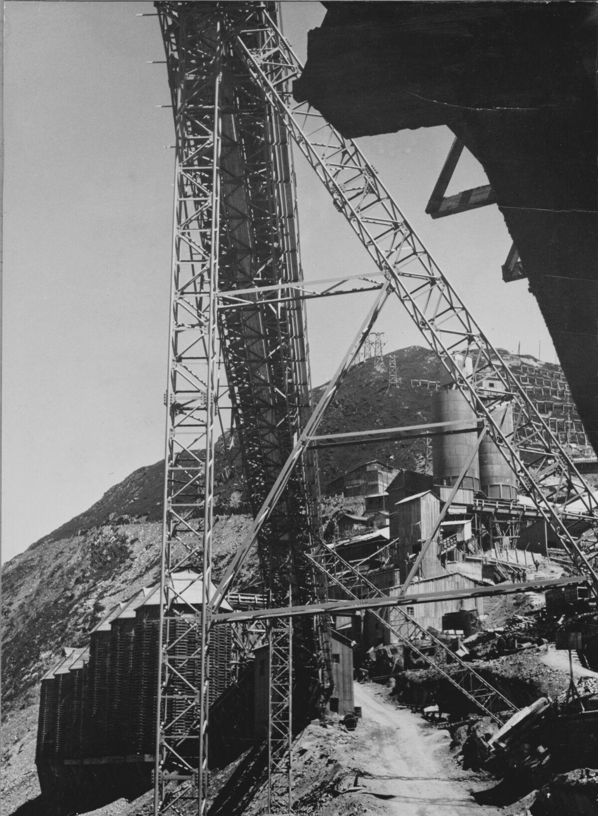 GFA 20/135.193: Stahl- und Brückenbau: Stahlbau Transportbahnbrücke Oberaar