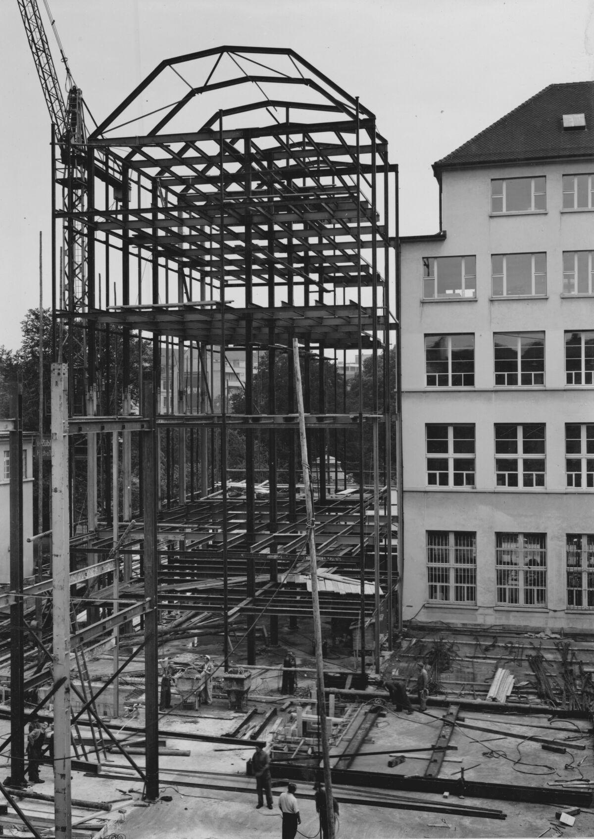 GFA 20/135.194: Stahl- und Brückenbau: Stahlbau Eisengerücst SBV