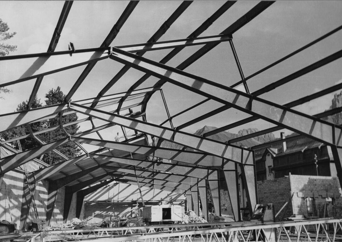 GFA 20/135.197: Stahl- und Brückenbau: Autogarage Adelboden