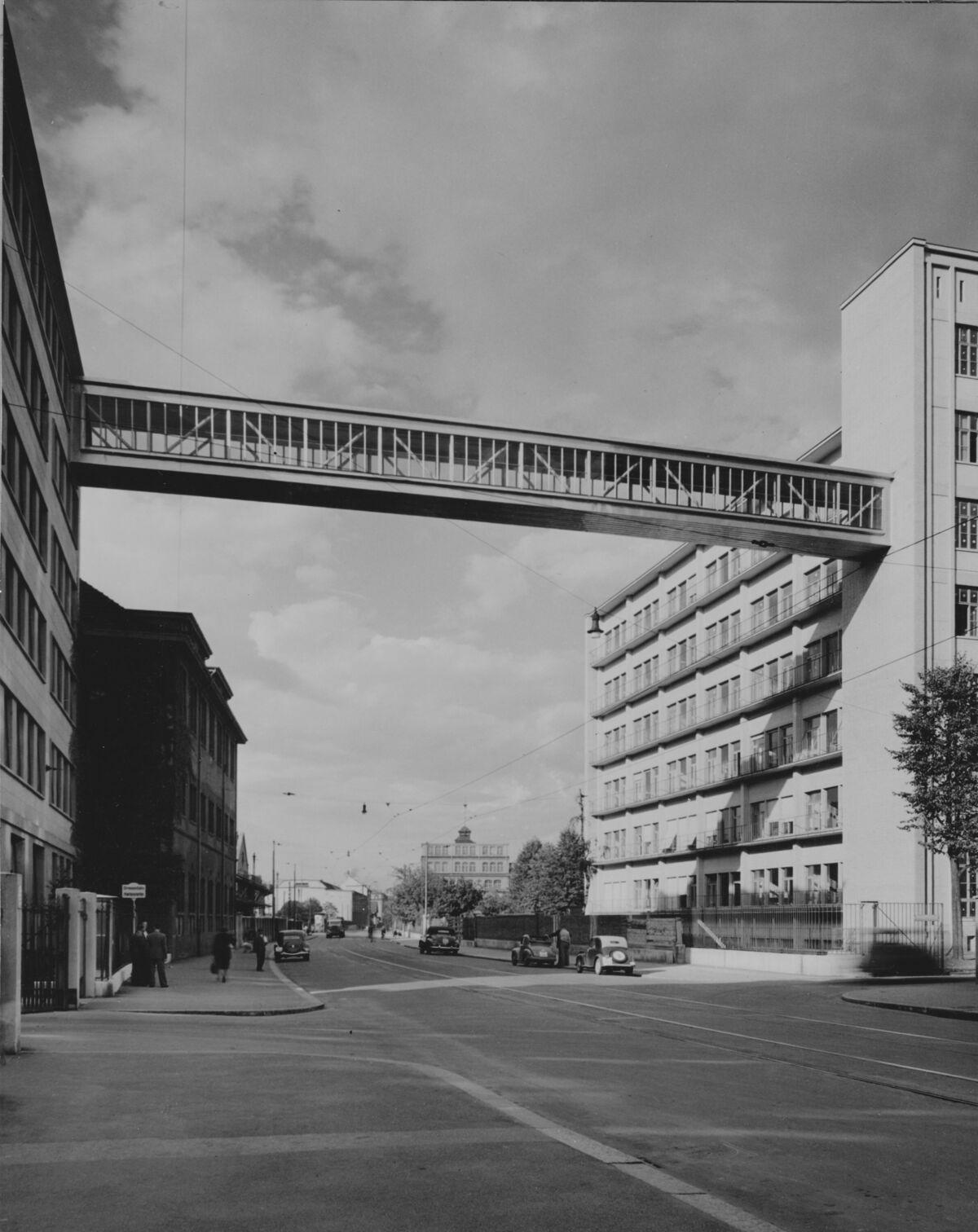 GFA 20/135.199: Stahl- und Brückenbau: Passerelle