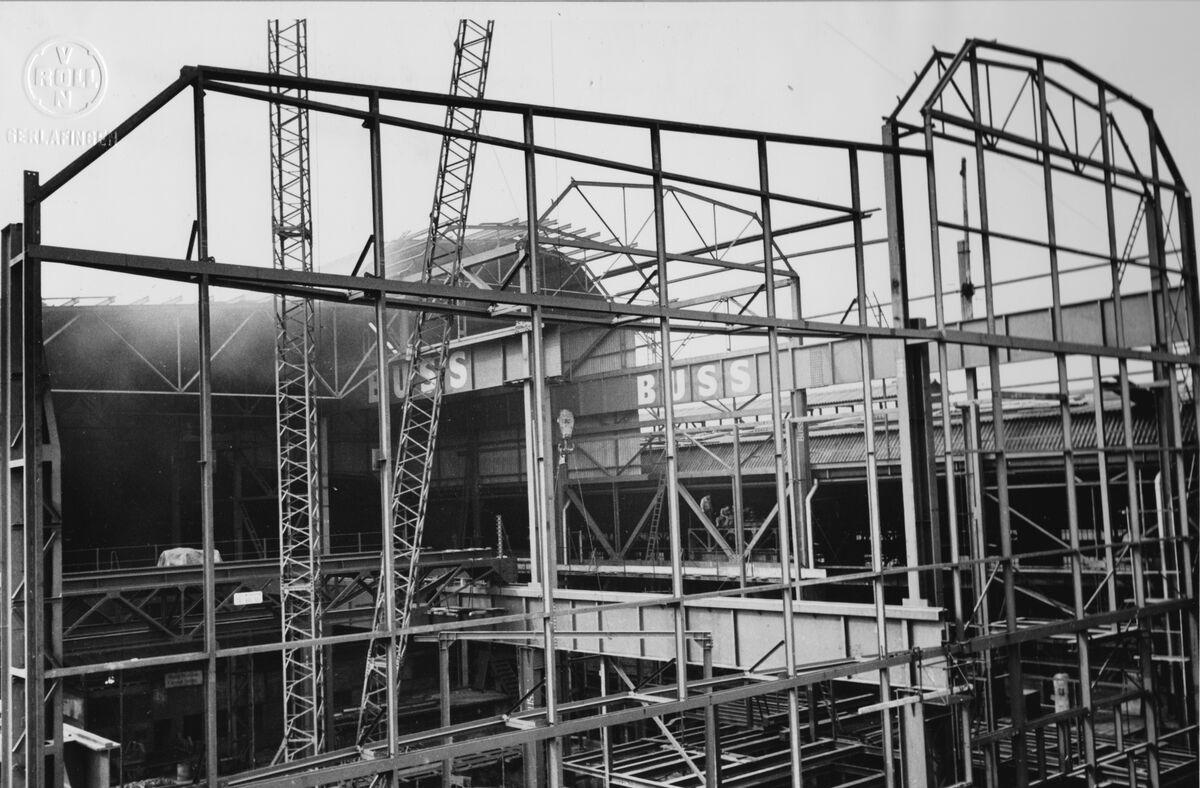 GFA 20/135.204: Stahl- und Brückenbau: Erweiterung Stahlwerk Ost Montagezusatnd