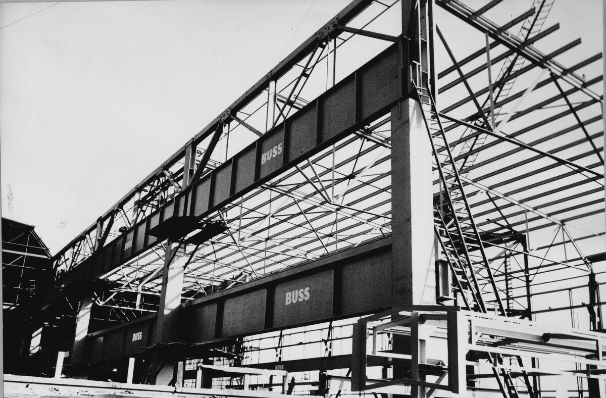 GFA 20/135.205: Stahl- und Brückenbau: Umbau Stahlwerk