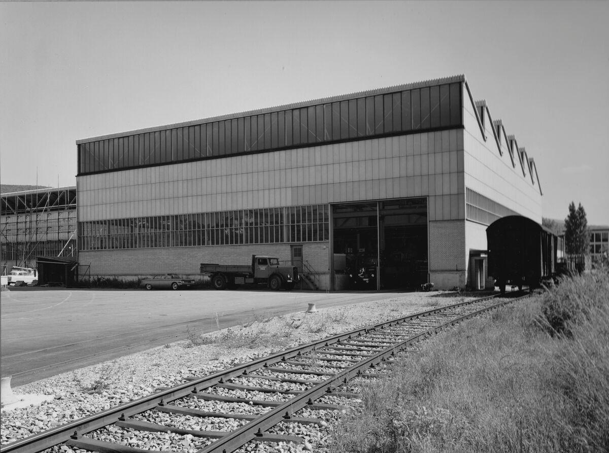 GFA 20/135.206: Stahl- und Brückenbau: Erweiterung der Spedition Metallwerke Dornach