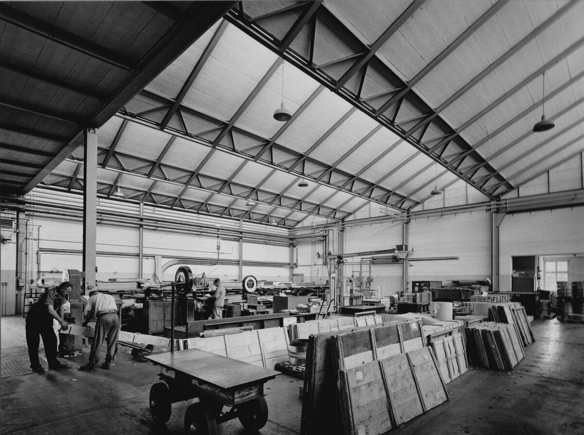 GFA 20/135.207: Stahl- und Brückenbau: Erweiterung der Spedition Metallwerke Dornach