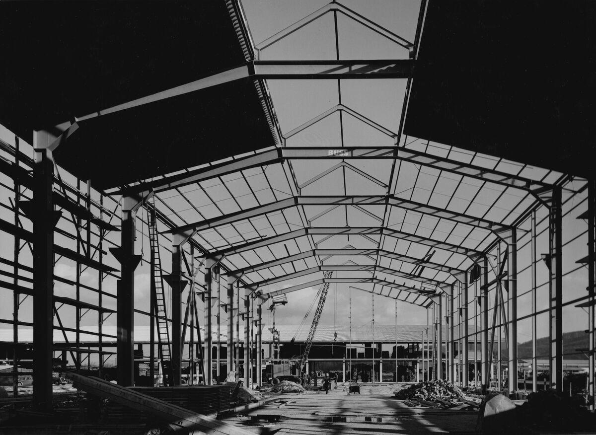 GFA 20/135.209: Stahl- und Brückenbau: Stahlkonstruktion Bauzustand
