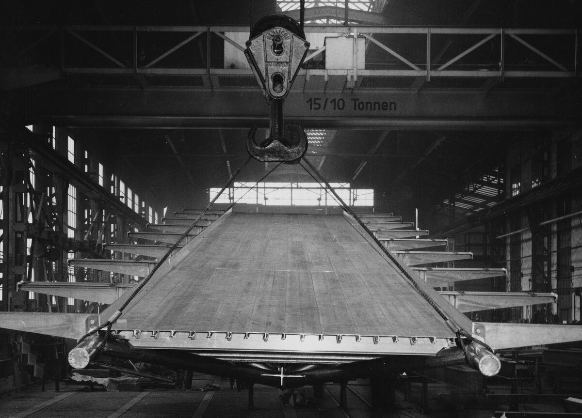 GFA 20/135.210: Stahl- und Brückenbau: Lawinengleitbahn für das Lawinenforschungs-Institut