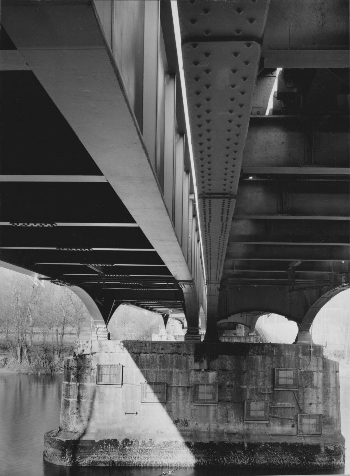 GFA 20/135.211: Stahl- und Brückenbau: Aarebrücke Wangen
