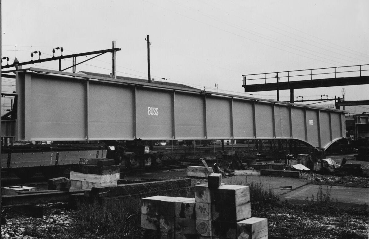 GFA 20/135.213: Stahl- und Brückenbau: Aarebrücke Wangen