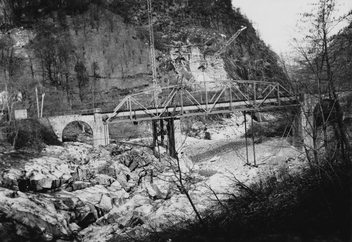 GFA 20/135.217: Stahl- und Brückenbau: Ponte Bolla
