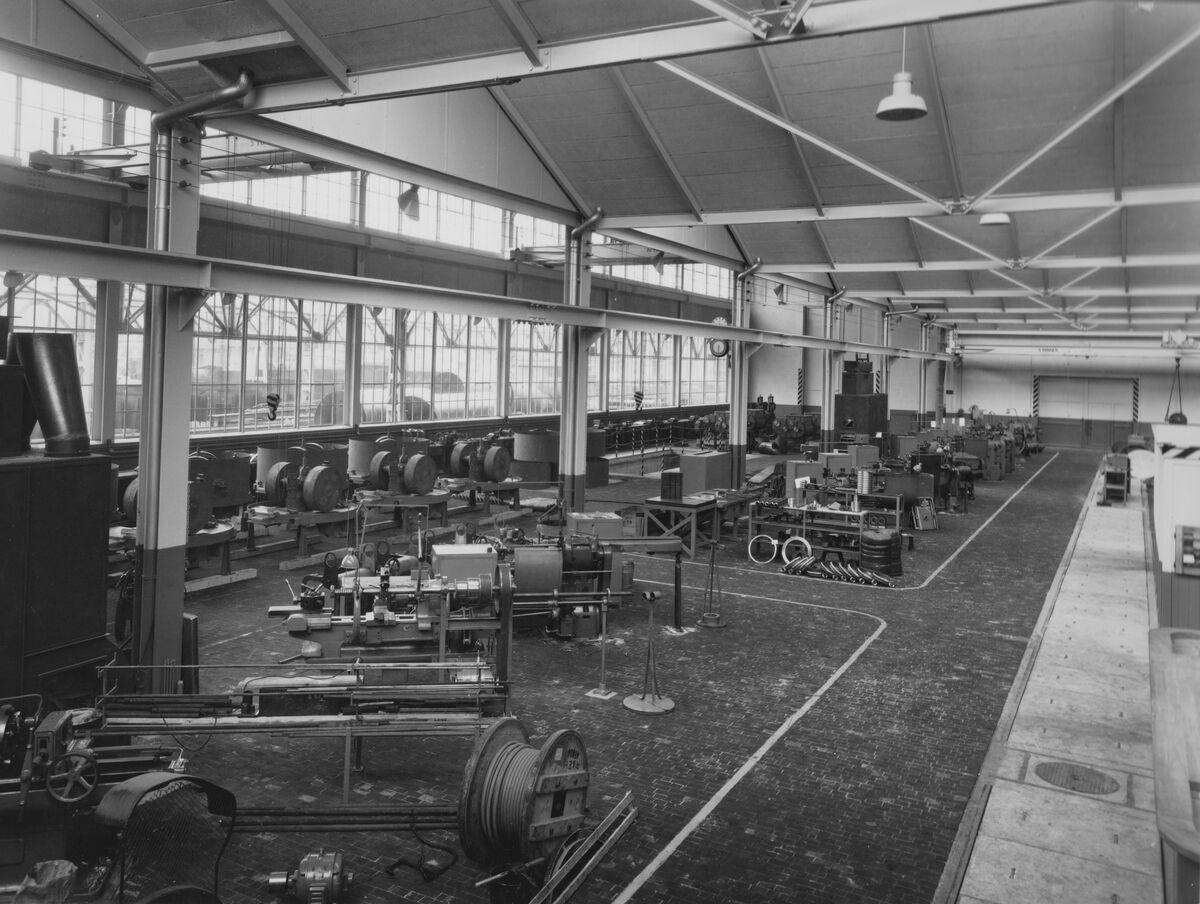 GFA 20/135.223: Stahl- und Brückenbau: Montagehalle BUSS AG