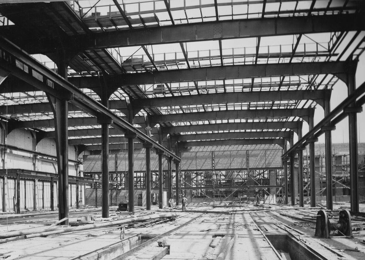 GFA 20/135.225: Stahl- und Brückenbau: Stahlbau SIG Waggonfabrik
