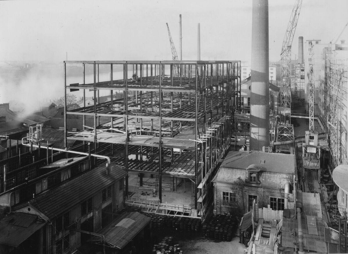 GFA 20/135.226: Stahl- und Brückenbau: Neubau CIBA