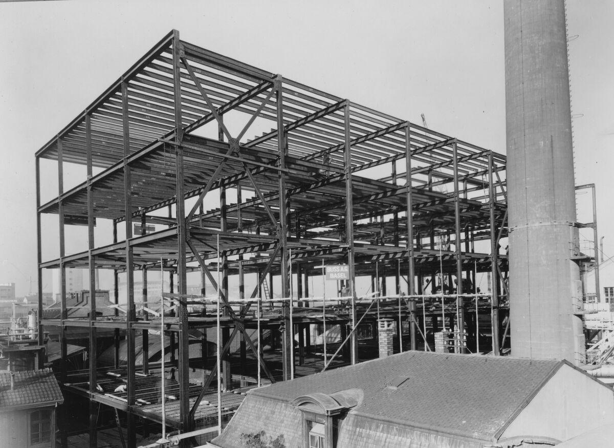 GFA 20/135.227: Stahl- und Brückenbau: Neubau CIBA
