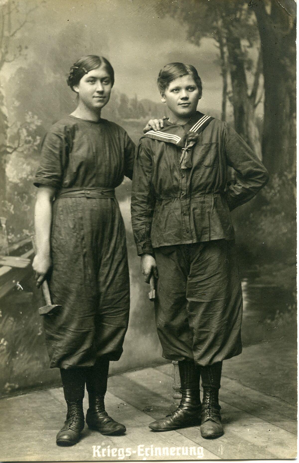GFA 24/144.1: Female labor in WWI