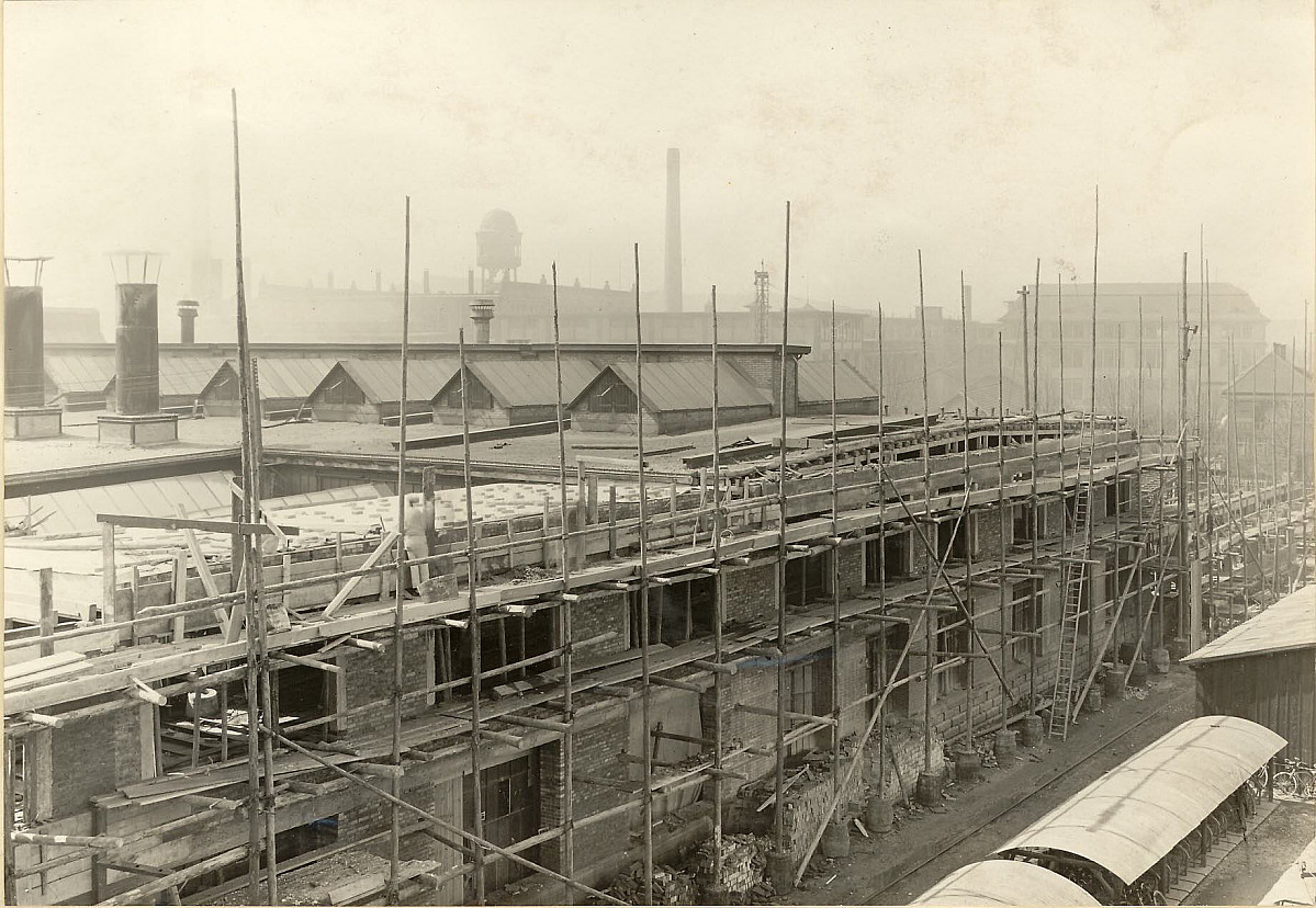 GFA 24/53.1100: Construction of a new factory building