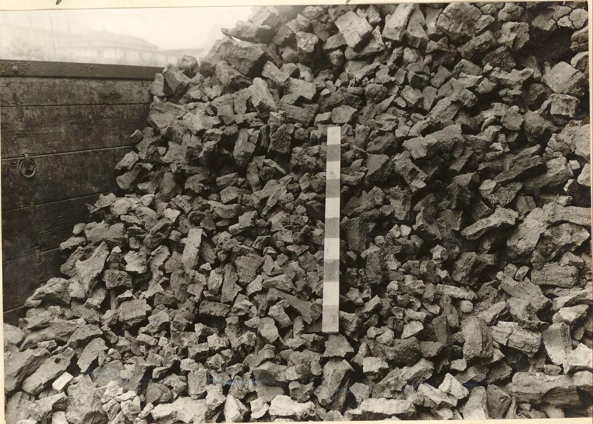 "GFA 24/53.1106: Coke from the pit ""Anna"", Alsdorf"