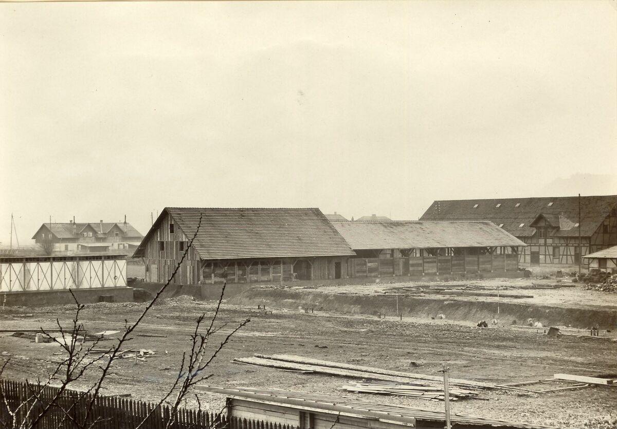 GFA 24/53.1166: New storage shed, plant Singen