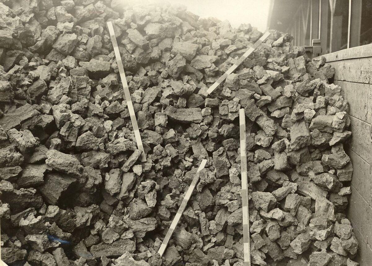 GFA 24/53.1187: Coke storage, plant Singen