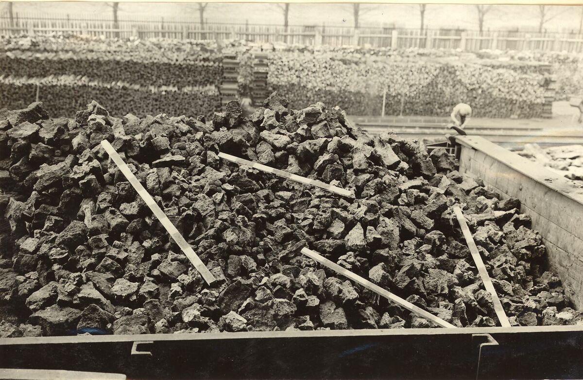 GFA 24/53.1188: Coke storage, plant Singen