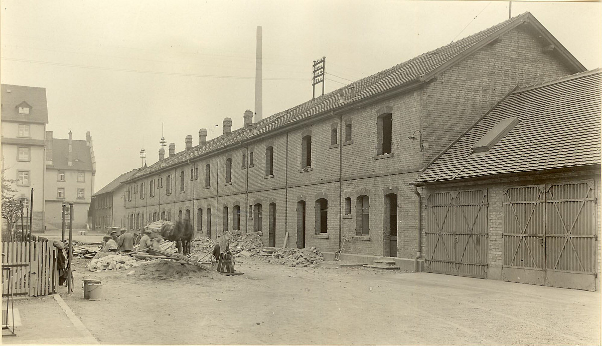 GFA 24/53.1189: Row house Fabrikstrasse