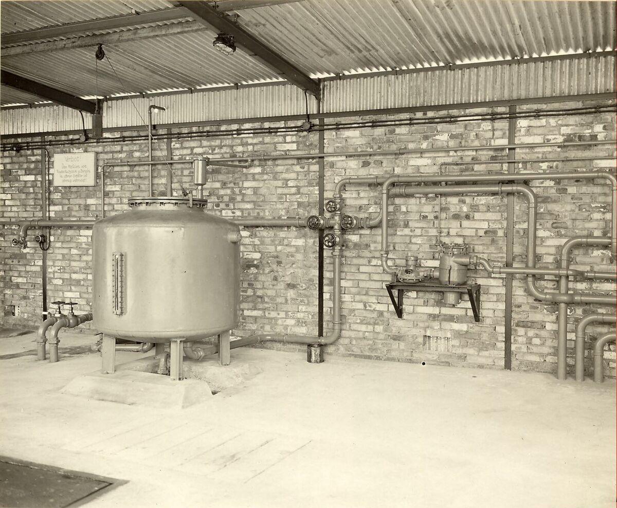 GFA 24/53.1208: Rust prevention finish fabrication plant