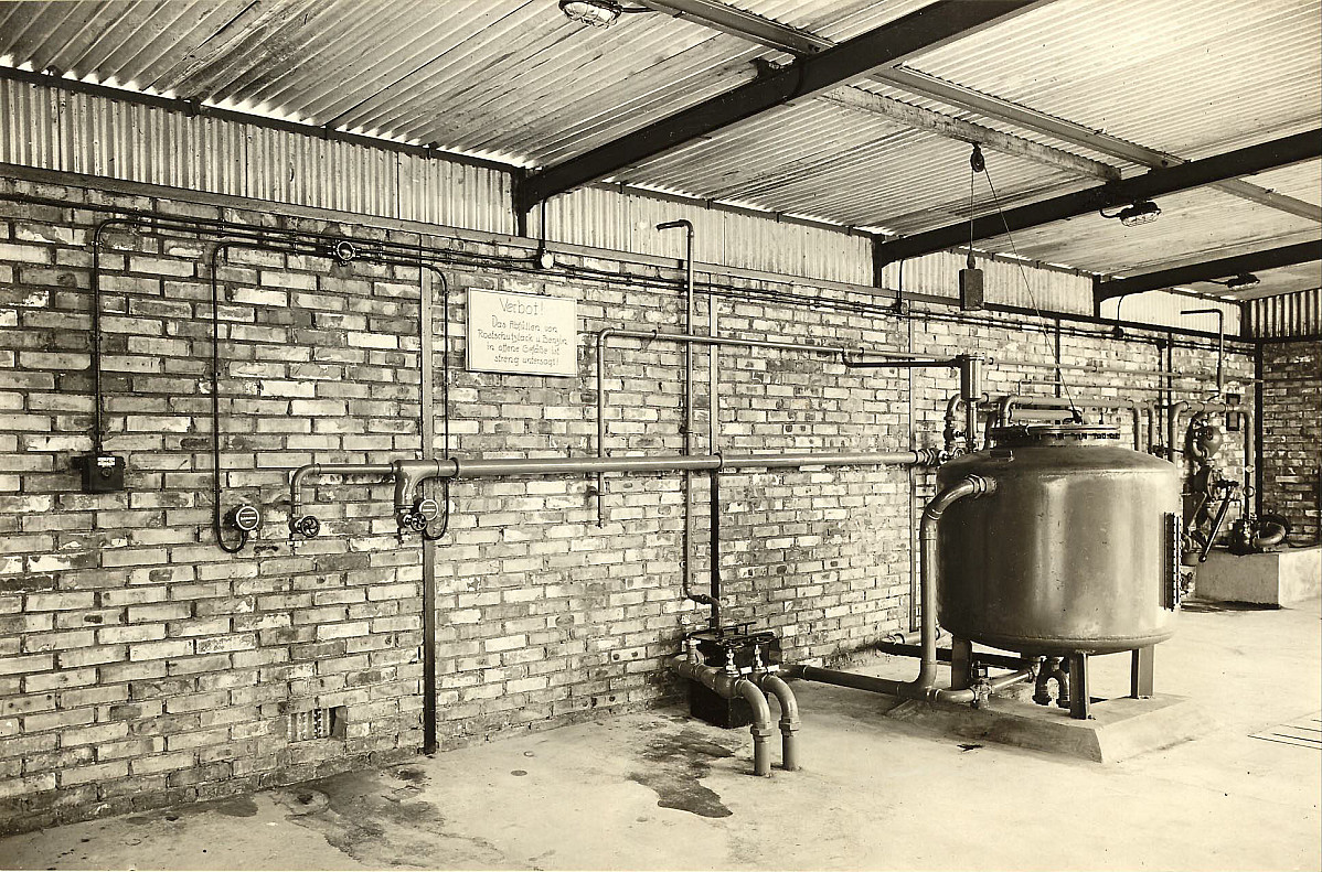 GFA 24/53.1209: Rust prevention finish fabrication plant